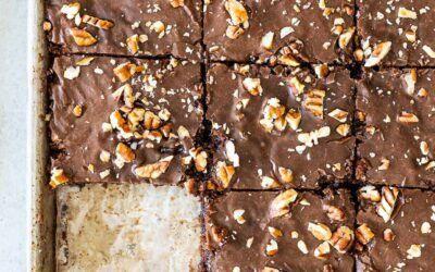 Receta de pastel de hoja de Texas |  SimplyRecipes.com