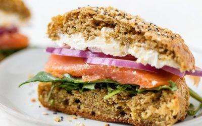 Pan rico en proteínas (panecillos de avena)